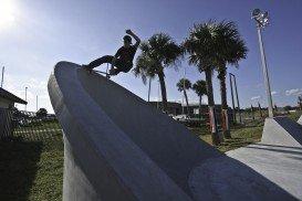 Bethune Point Skateboard Park, Daytona Beach