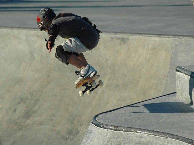 """""""Skateboarding at Bethune Point Skateboard Park"""""""