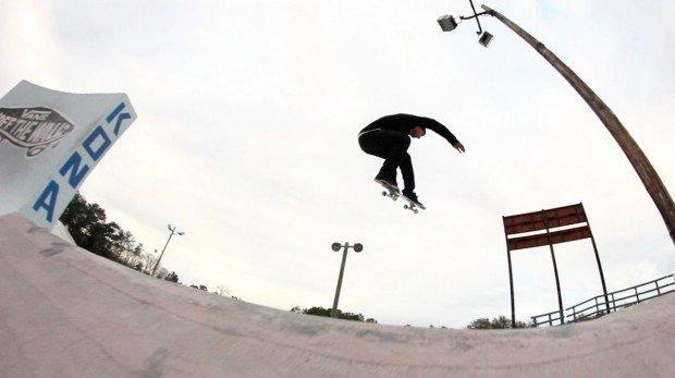"""""""Skateboarding at Kona Skatepark"""""""