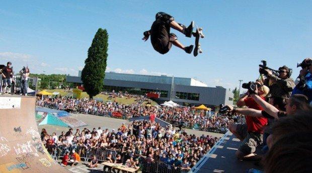 """""""Skatepark de Strasbourg-Cronenbourg Skateboarding"""""""