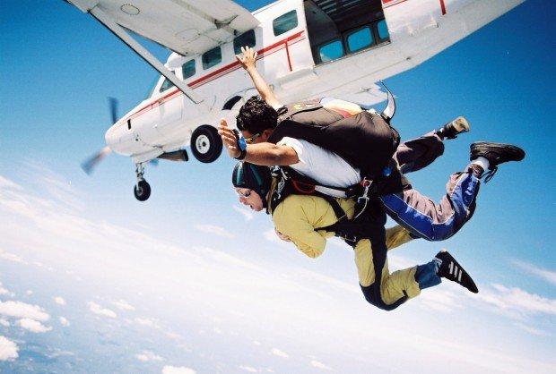 """""""Skydiving at Herlong Recreational Airport"""""""