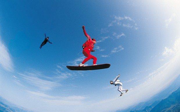 """""""Skysurfing in Wels"""""""