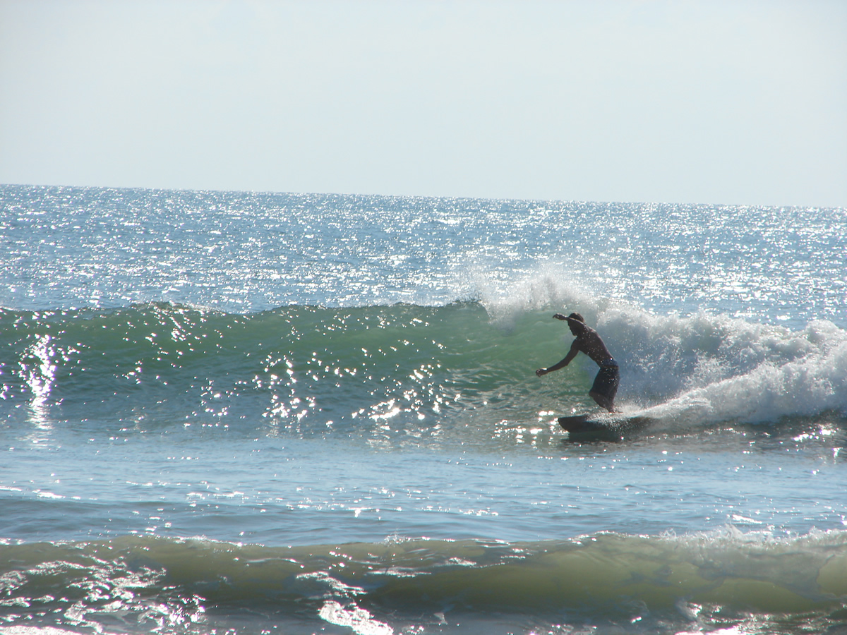 Surfing At Daytona Beach