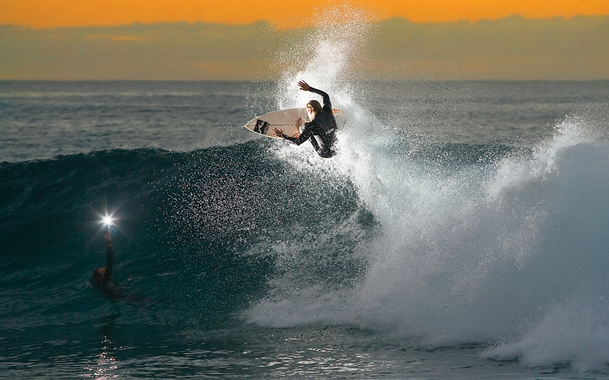 surfing sunset beach tampa florida usa