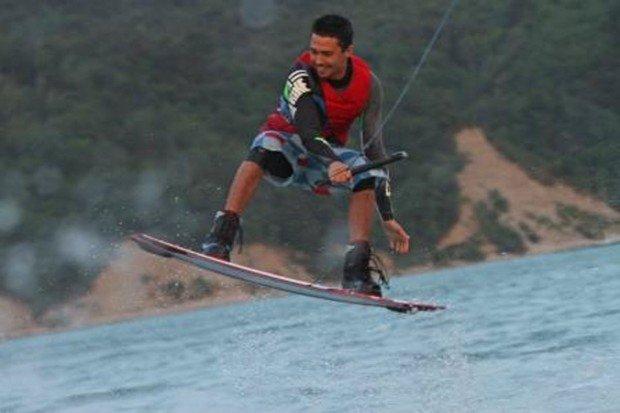 """""""Wakeboarder in Lac de Monteynard"""""""