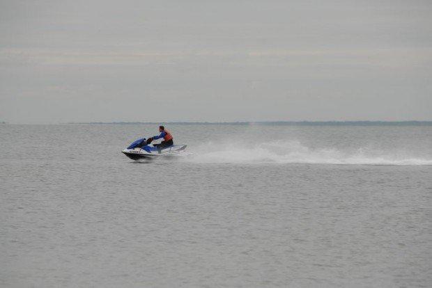 """Jet Skiing at Barnegat Bay"""