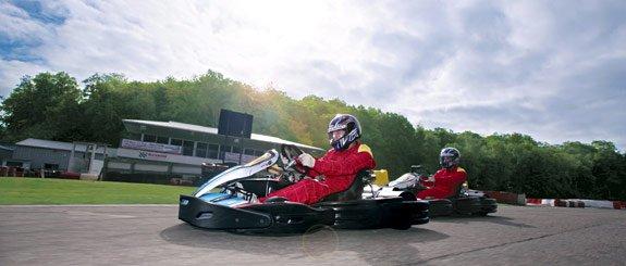 """Extreme Motor Sports at Buckmore Park Kart Circuit"""