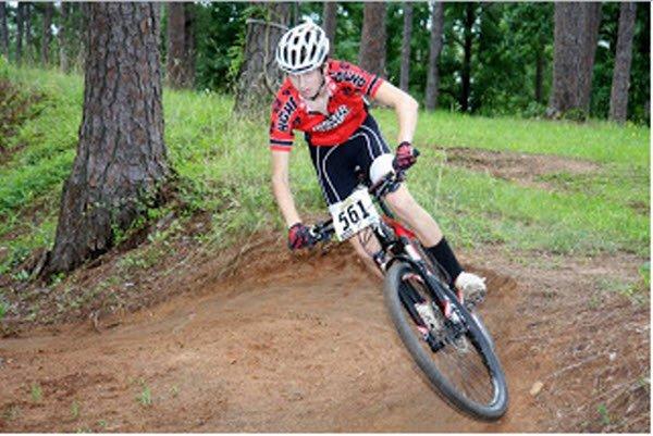 """Flat Rock Park Mountain Biker"""