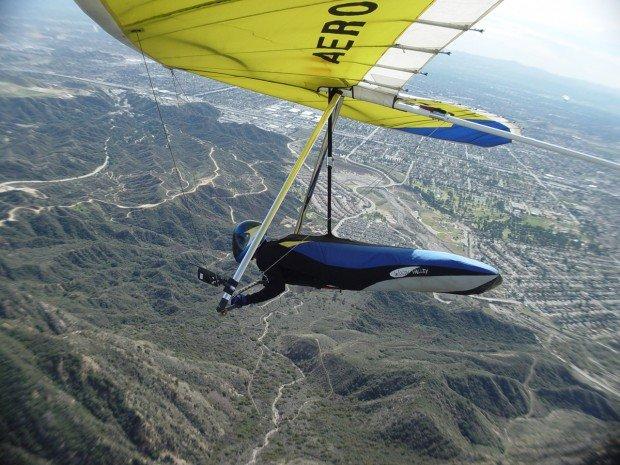 """""""Hang Gliding at La Torre"""""""