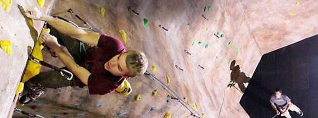 """Indoor Rock Climbing at The Hague"""