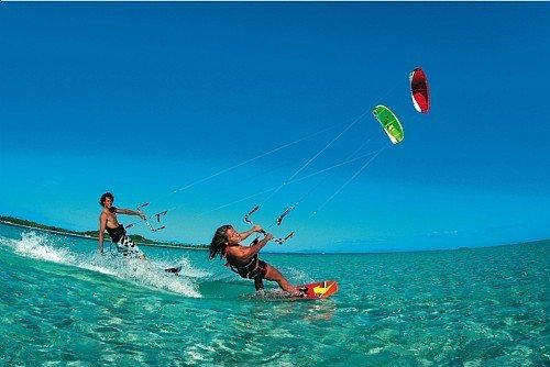 """Kiteboarding at Dewey Beach"""