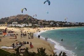 Mikri Vigla Beach, Naxos Island