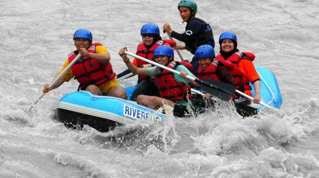 """Kiulu River White Water Rafting"""