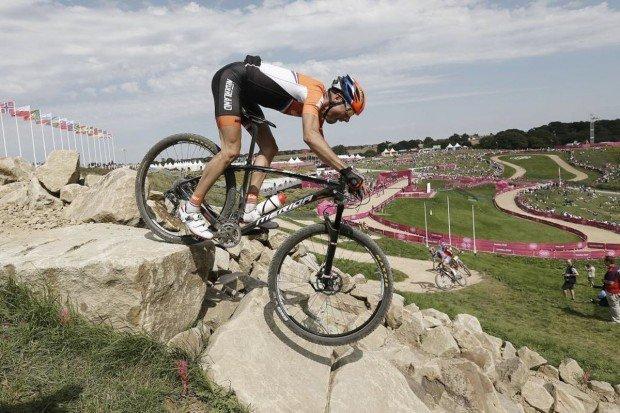 """""""Mountain Biker in Eindhoven"""""""