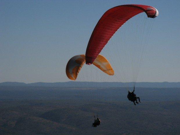 """""""Paragliding at La Cumbre"""""""