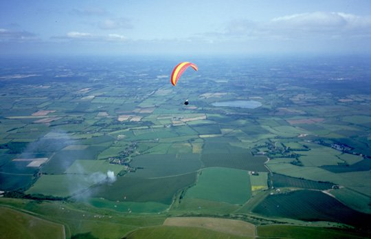 """""""Paragliding from Bo-Peep"""""""