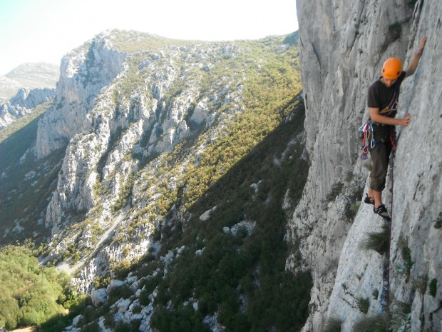 """Rock Climbing at the Anica Kuk Mountain"""