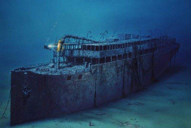 """""""Scuba Diving at the Baron Gautsch Wreck"""""""