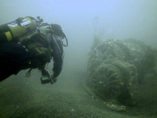 ''Scuba Diving at Kowloon Bridge''