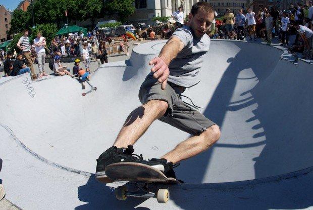 """""""Skate Boarder in Skatepark des Urselines - Brussels"""""""