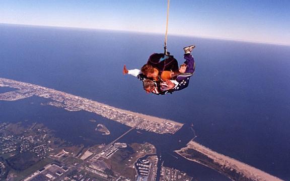 """""""Skydiving at Ocean City"""""""