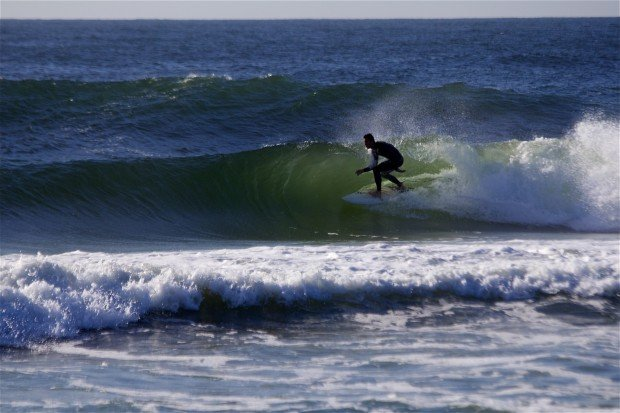 """""""Surfing at Seaside Park New Jersey'"""