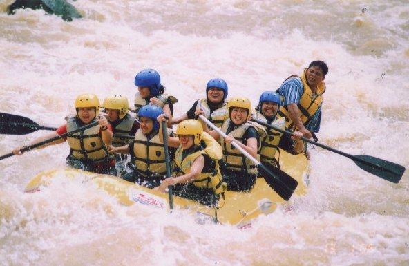 """White water Rafting in Padas River"""