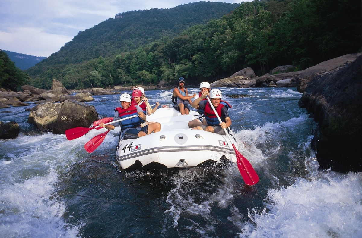 White Water Rafting New River Gorge National River Fayette