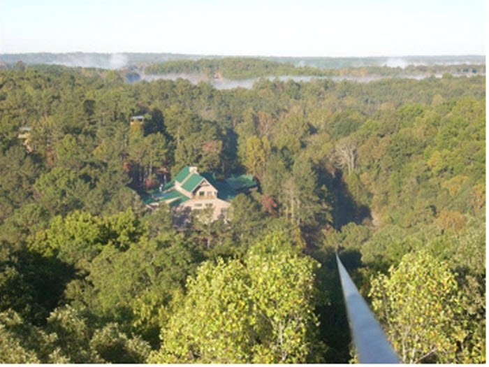 Canopying Whitesburg Carroll County Georgia Usa