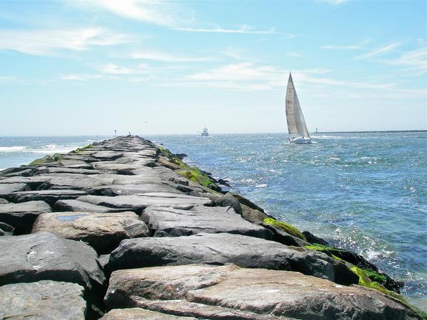 """""""Sailing at Barnegat Bay"""""""