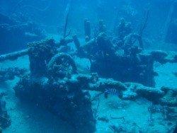 Wreck SS Stavronikita, Barbados