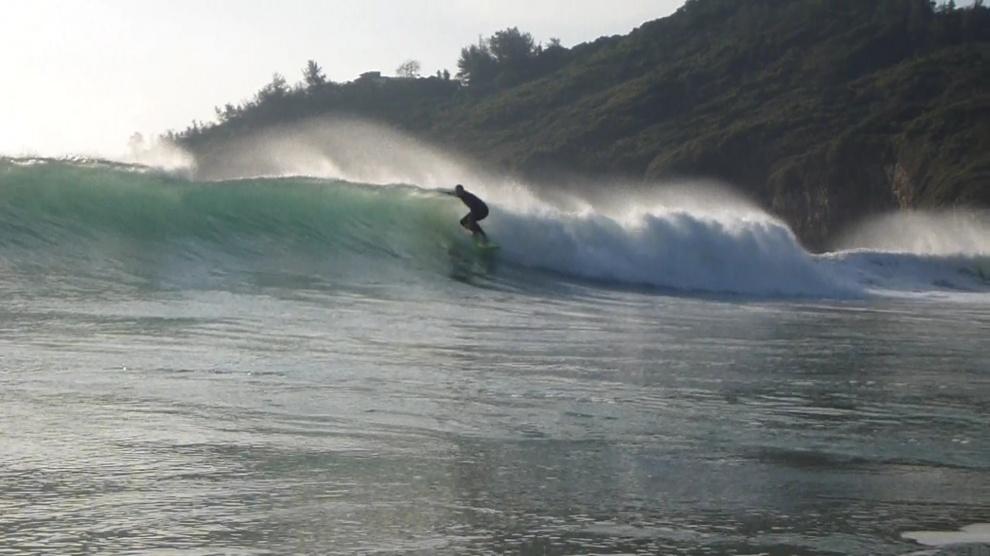surfing big wave bay hong kong south central china