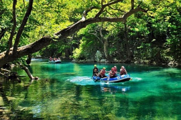 """""""White Water Rafting at Voidomatis River"""""""