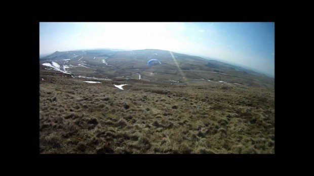 ''paragliding from Shining Tor''