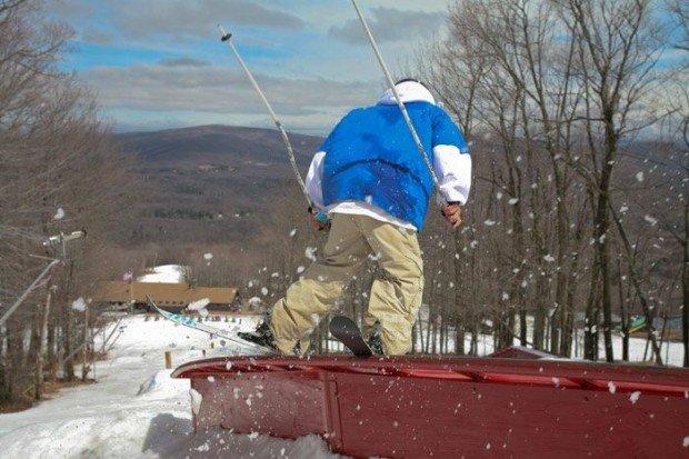 """Alpine Skiing at Belleayre Mountain Ski Center"""