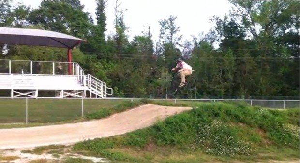 """BMX Dirt in Baton Rouge BMX Track"""