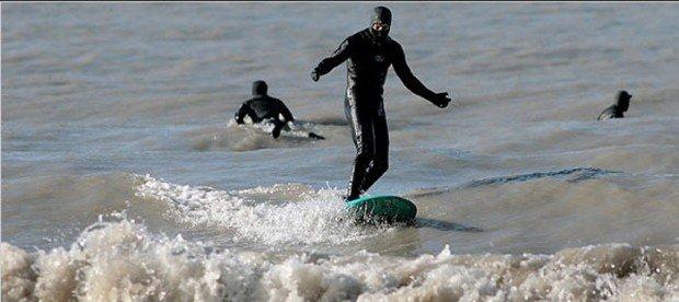 """""""Cleveland surfing"""""""
