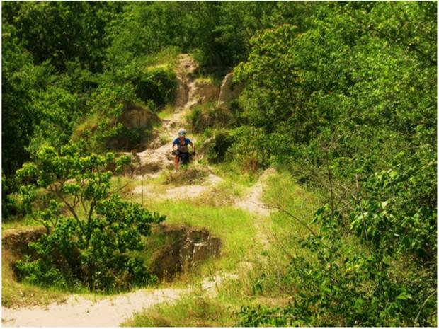 """Hooper Road Park Trail Mountain Biking"""