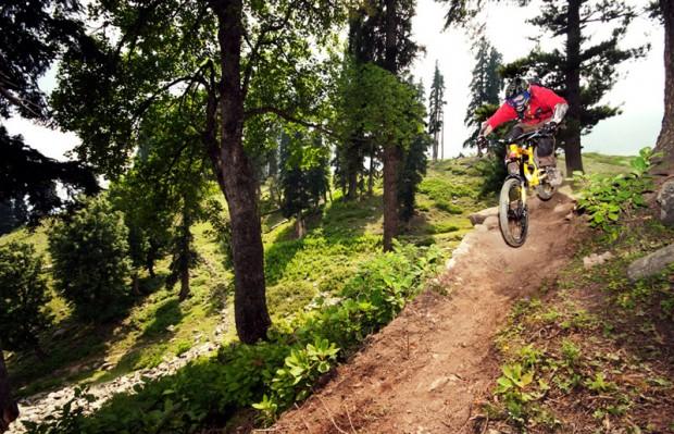 """Mountain Bike Freeride at Gulmarg Resort"""