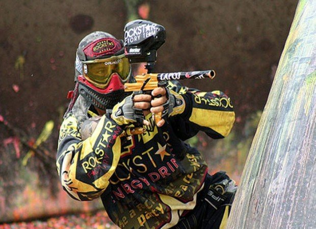 """""""Paintball in Battle Zone Paintball Park"""""""