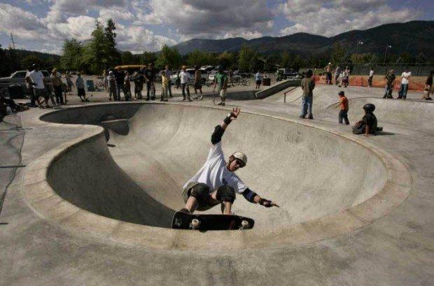 """""""Skate Boarding in Dreamland Skate Park"""""""