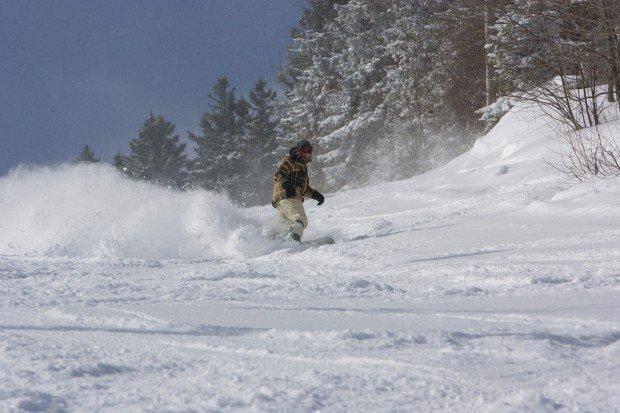 """""""Snowboarding at Greek Peak Mountain"""""""