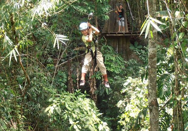 """""""Ziplining in Algkor Wat"""""""