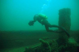 William H. Barnum wreck, Lake Huron