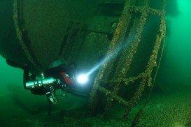 Cedarville wreck, Lake Huron