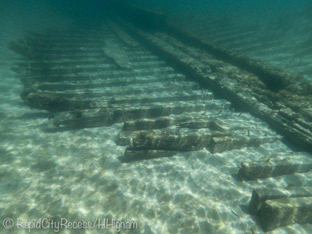 """Snorkeling at Metropolis Shipwreck"""