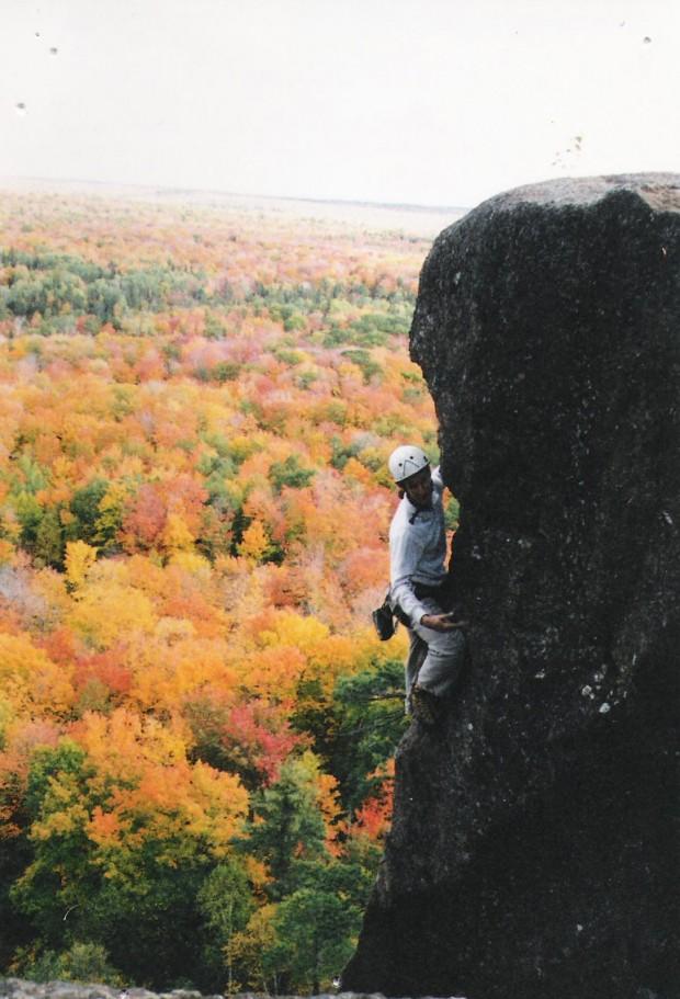 """Rock Climbing at Rated P.G."""