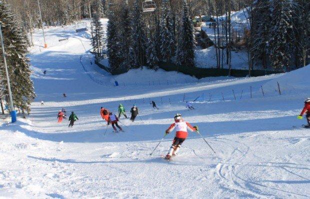 """Alpine Skiing in KANT Sports Club"""