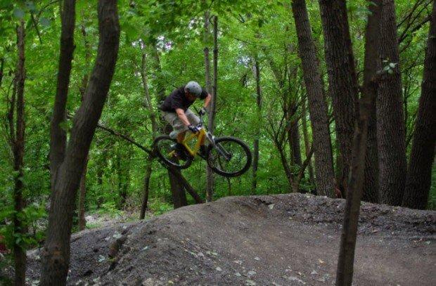 """""""BMX Dirt Jumping in The Garden"""""""