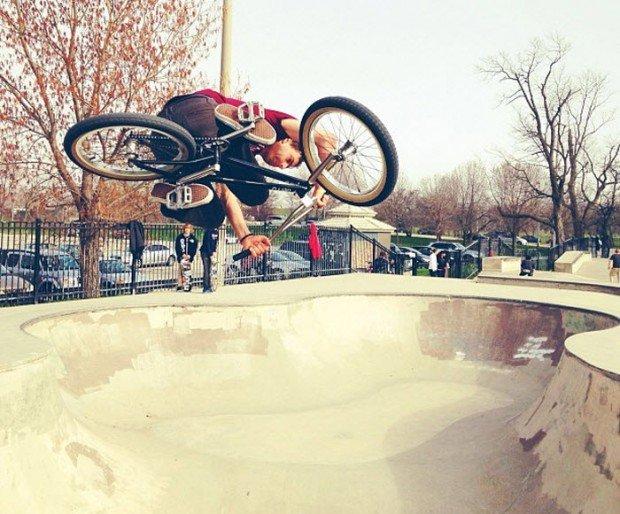 """""""BMX in Wilson Skate Park"""""""